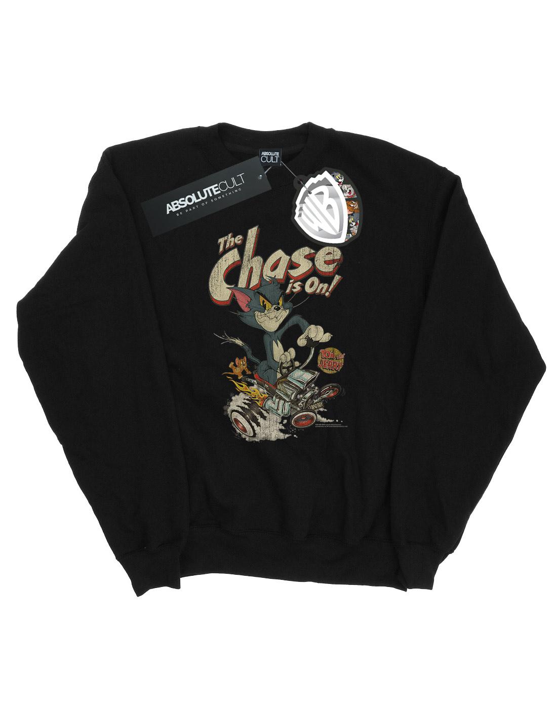 Tom and Jerry Girls Rocket Prank Sweatshirt