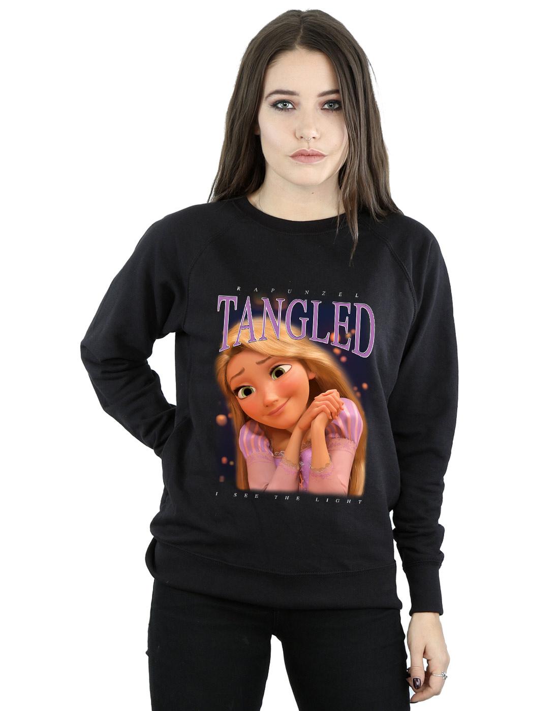 Donna Rapunzel Tangled Felpa Montage Disney HO18qw4HdZ