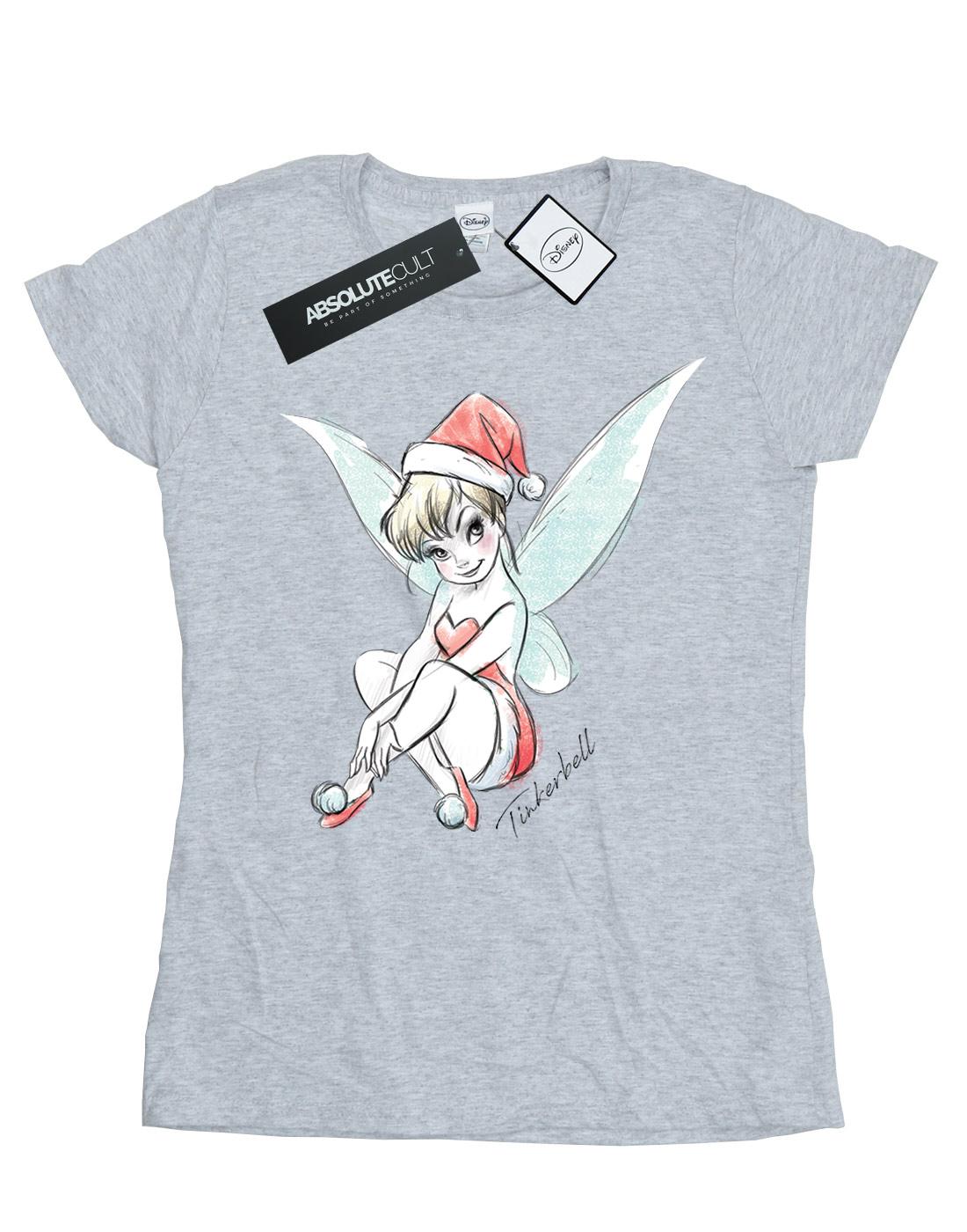 Disney-Women-039-s-Tinkerbell-Christmas-Fairy-T-Shirt thumbnail 37