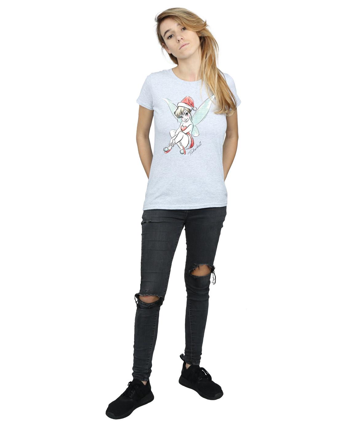 Disney-Women-039-s-Tinkerbell-Christmas-Fairy-T-Shirt thumbnail 40