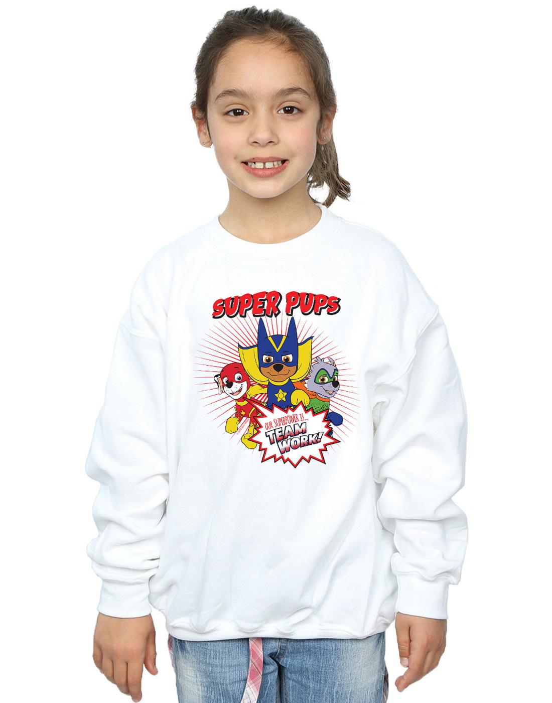 Paw-Patrol-Ninas-Super-Pups-Camisa-De-Entrenamiento