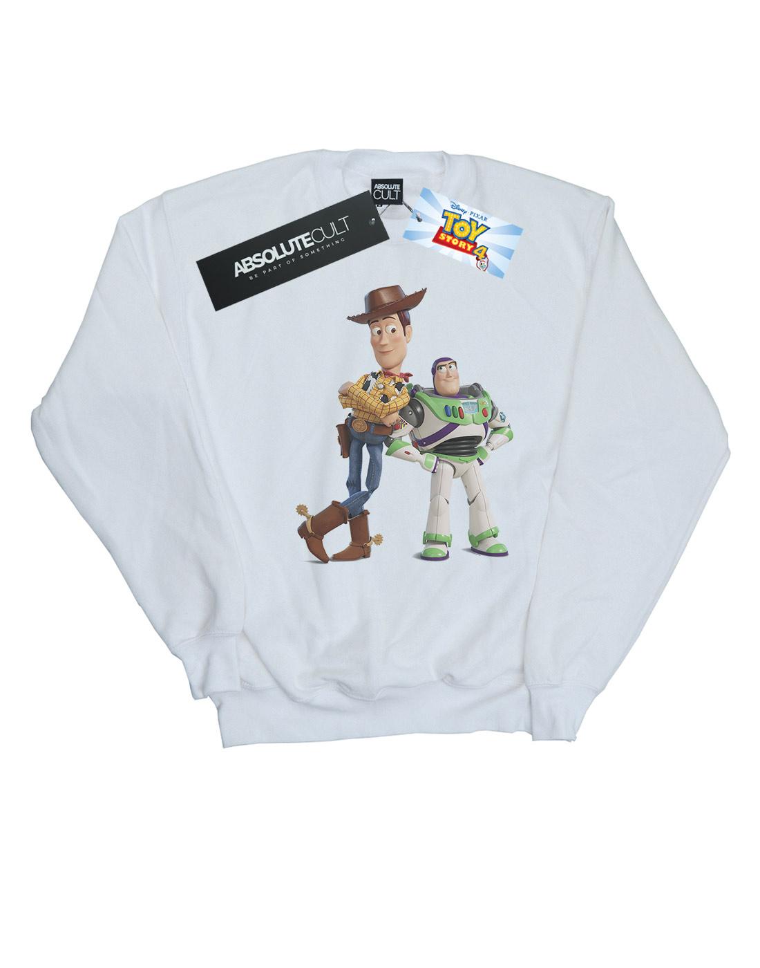 Disney-Girls-Toy-Story-Buzz-And-Woody-Standing-Sweatshirt thumbnail 8