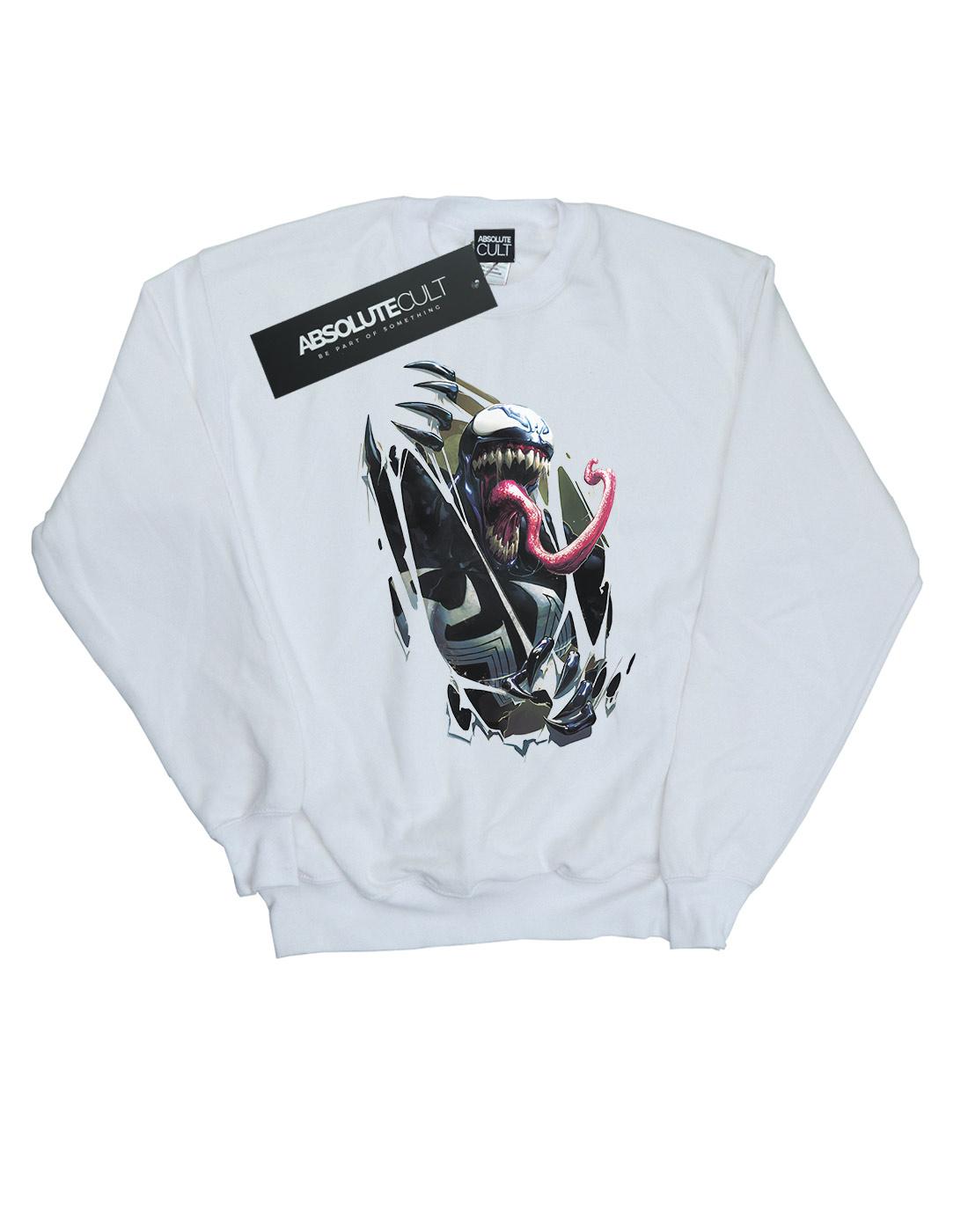 Marvel Damen Venom Venom Venom Chest Burst Sweatshirt | Maßstab ist der Grundstein, Qualität ist Säulenbalken, Preis ist Leiter  | Überlegene Qualität  d6f61f