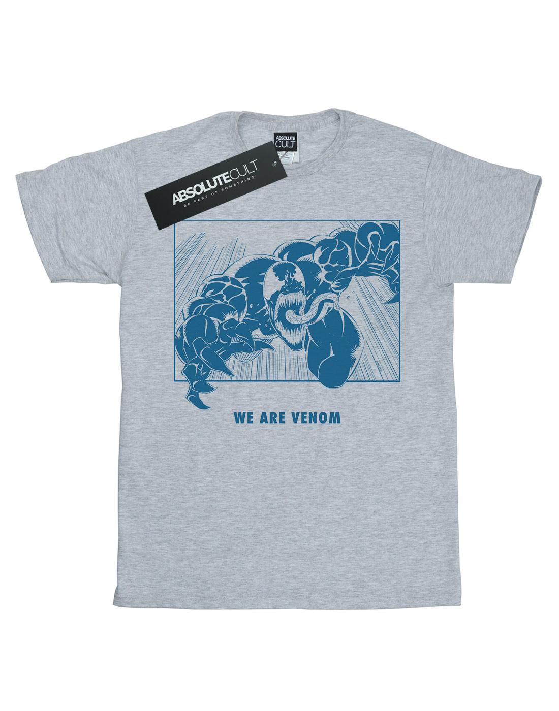Marvel-Mujer-Venom-We-Are-Venom-Camiseta-Del-Novio-Fit