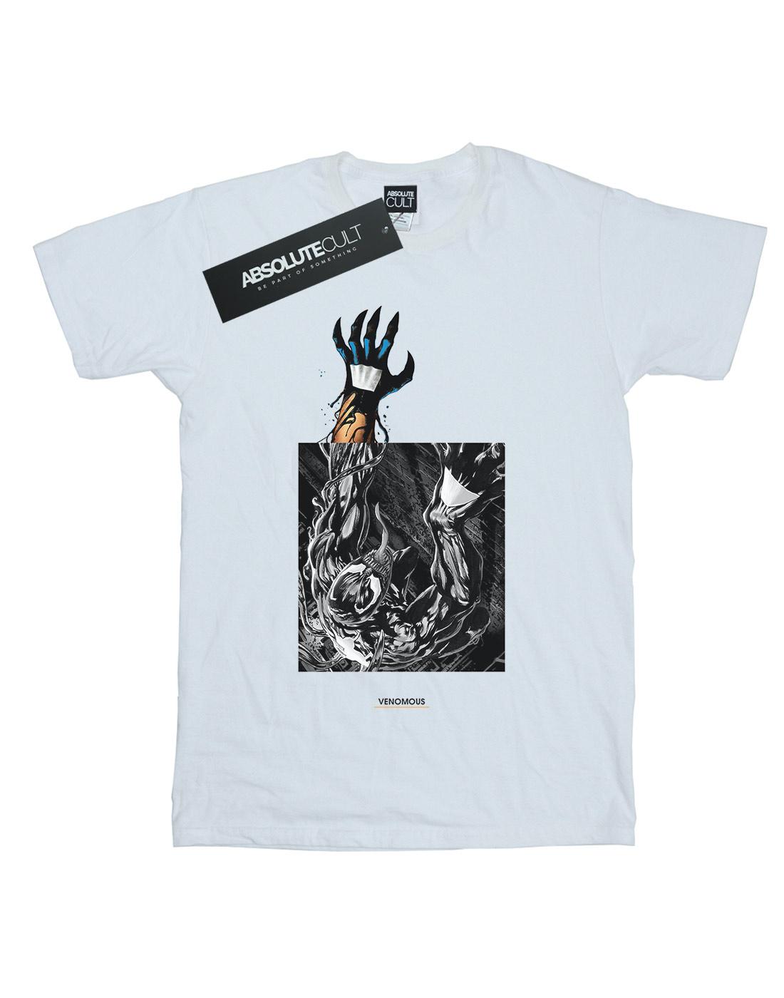 Marvel-Hombre-Venom-Climb-Camiseta