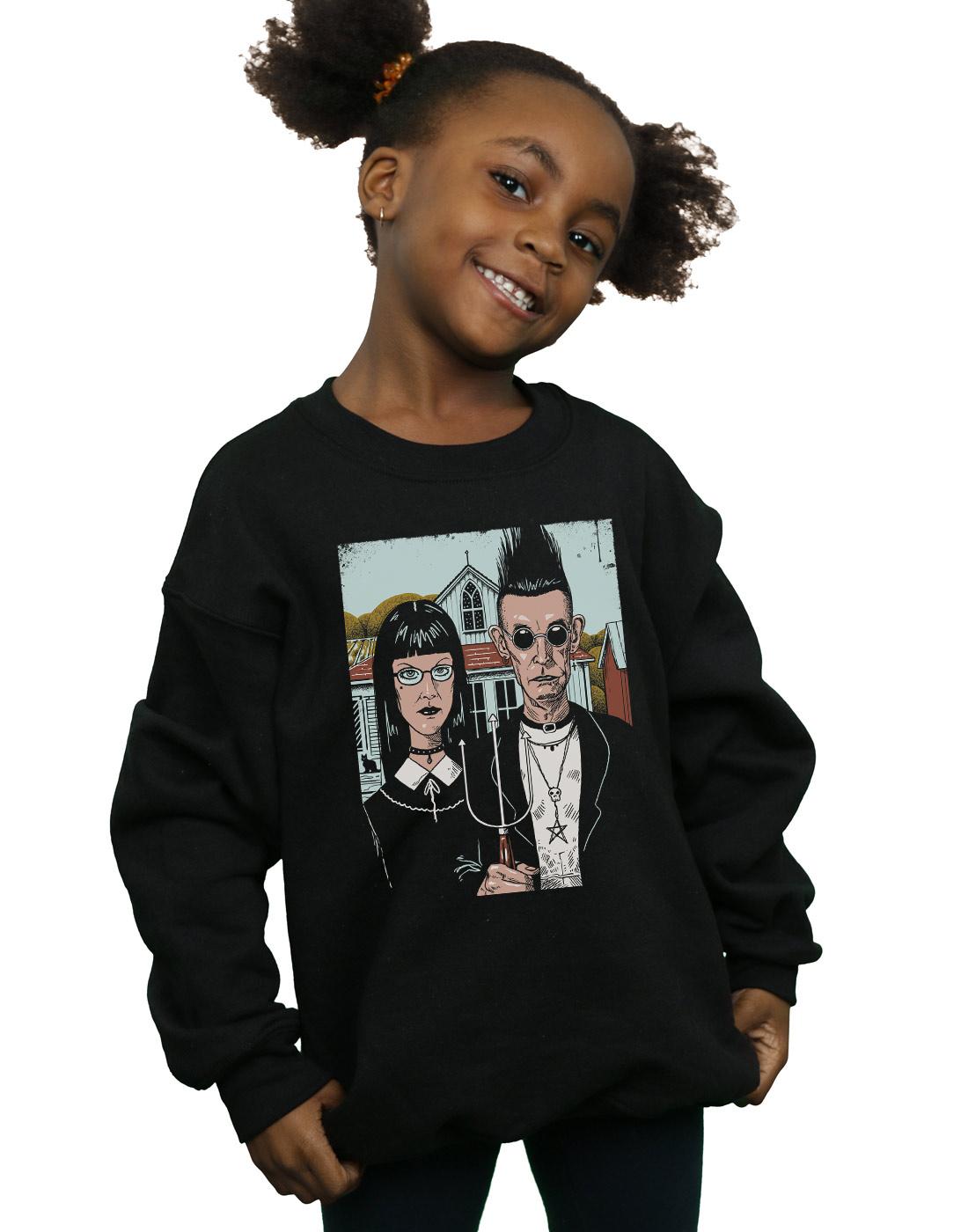 Star Wars Girls Vintage Montage Sweatshirt