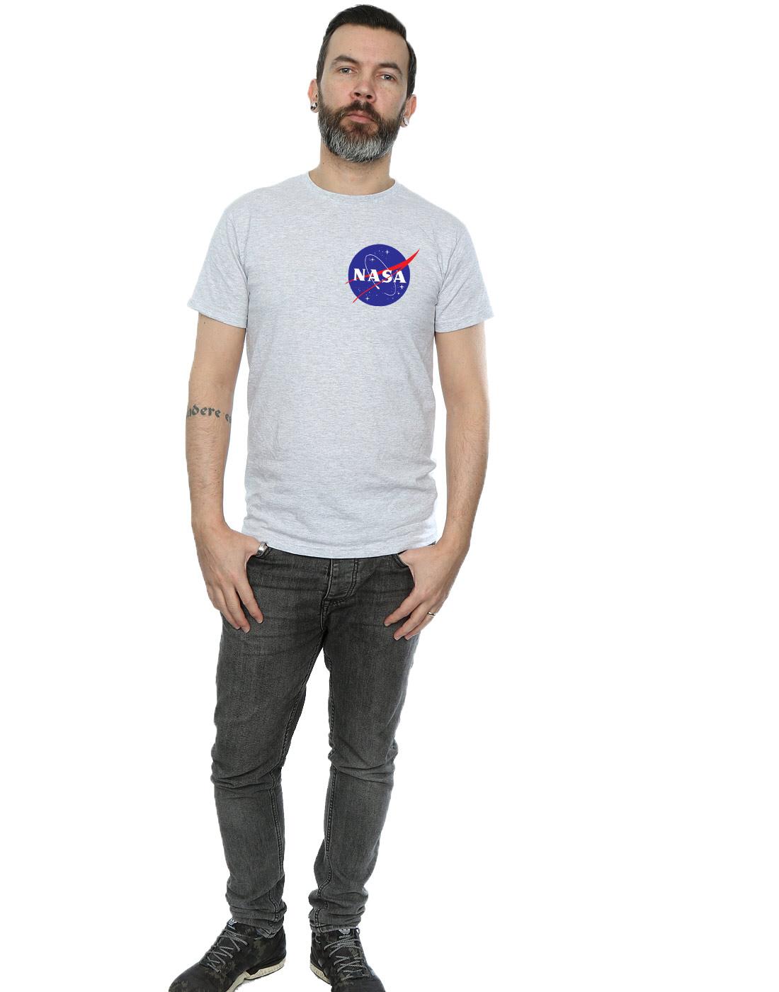 NASA-Homme-Classic-Insignia-Pocket-Logo-T-Shirt