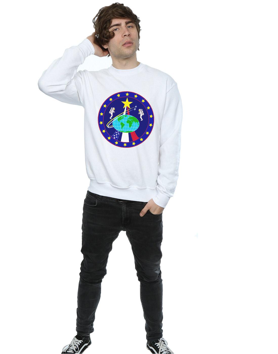 NASA NASA NASA Herren Classic Globe Astronauts Sweatshirt | Überlegene Qualität  590c78