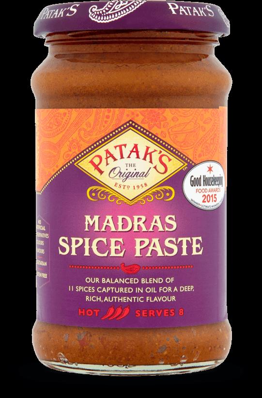 Madras Spice Paste