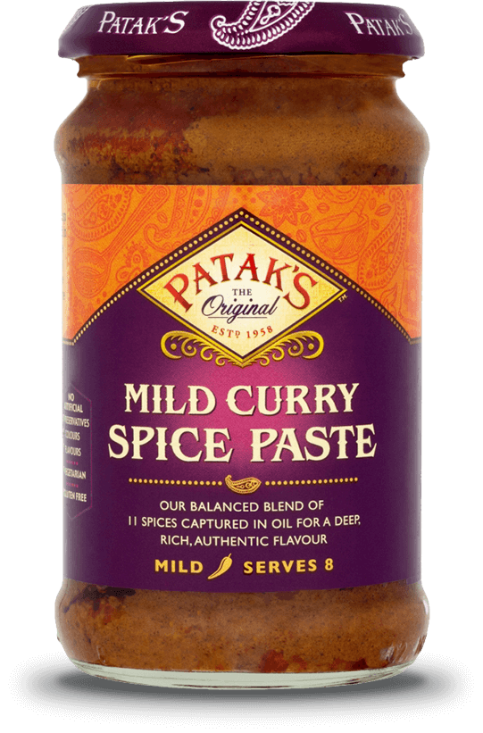 Mild Curry Spice Paste | Patak's Indian curry products and recipes