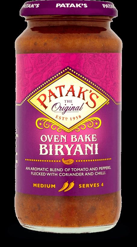 Oven Bake Biryani Sauce