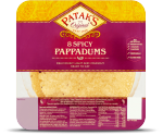 Pappadums - Spicy & Ready to Eat