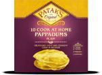 Plain Pappadums Cook to Eat