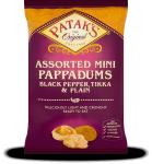 Mini Pappadums - Assorted