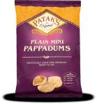 Mini Pappadums - Plain