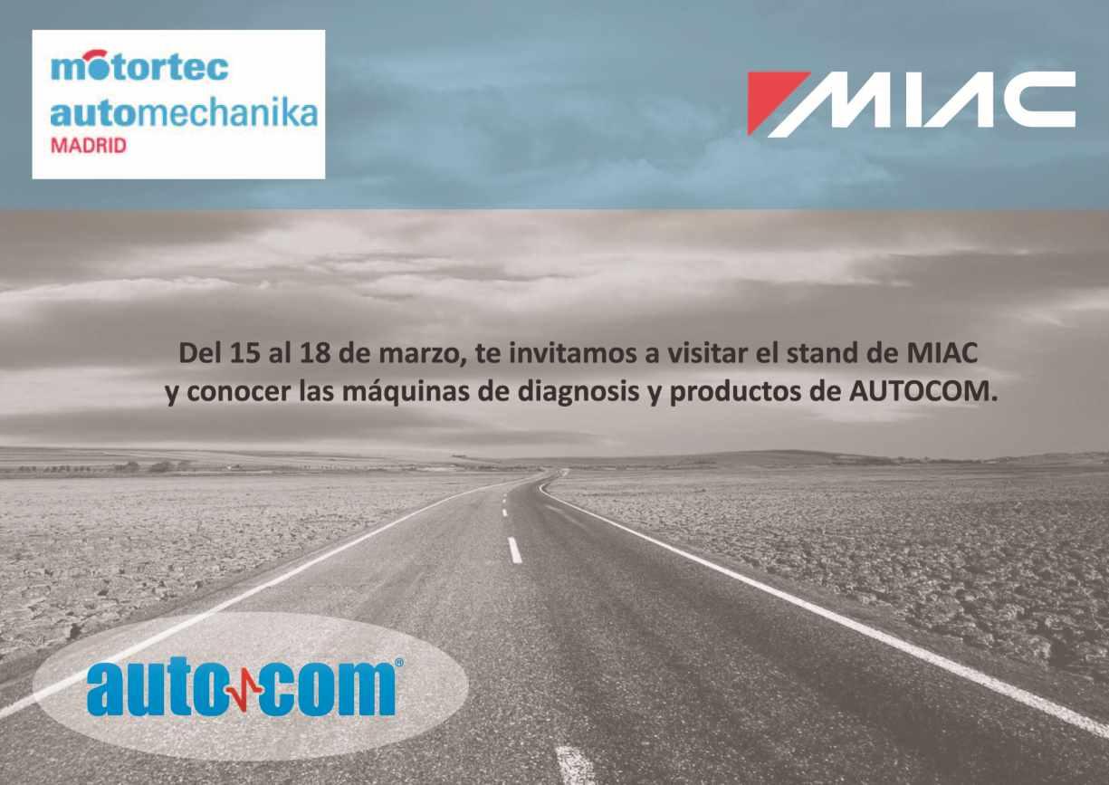Autocom products at motortec automechanika madrid