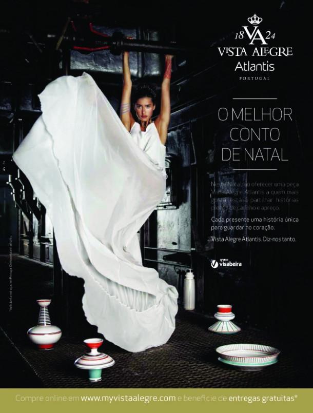 A nova campanha e o catálogo da Vista Alegre Atlantis são