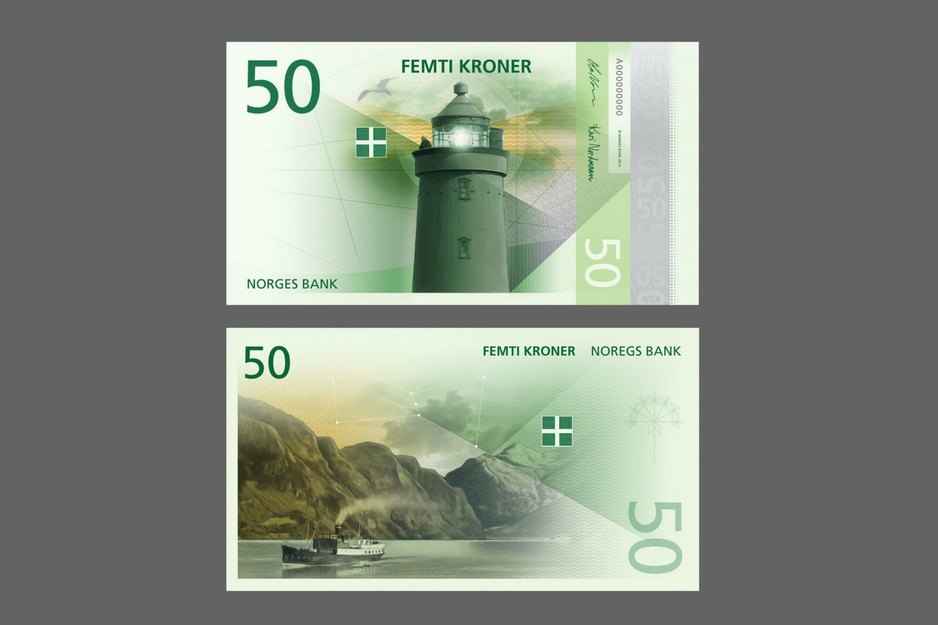50 banknotes