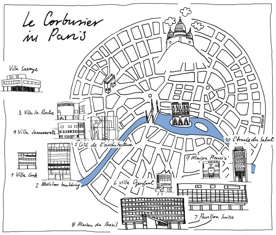 Paris City Guide Architecture Of Le Corbusier A City Made By People