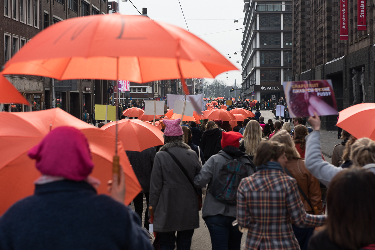 A City Made By People Amsterdam Women's March Richard Rigby