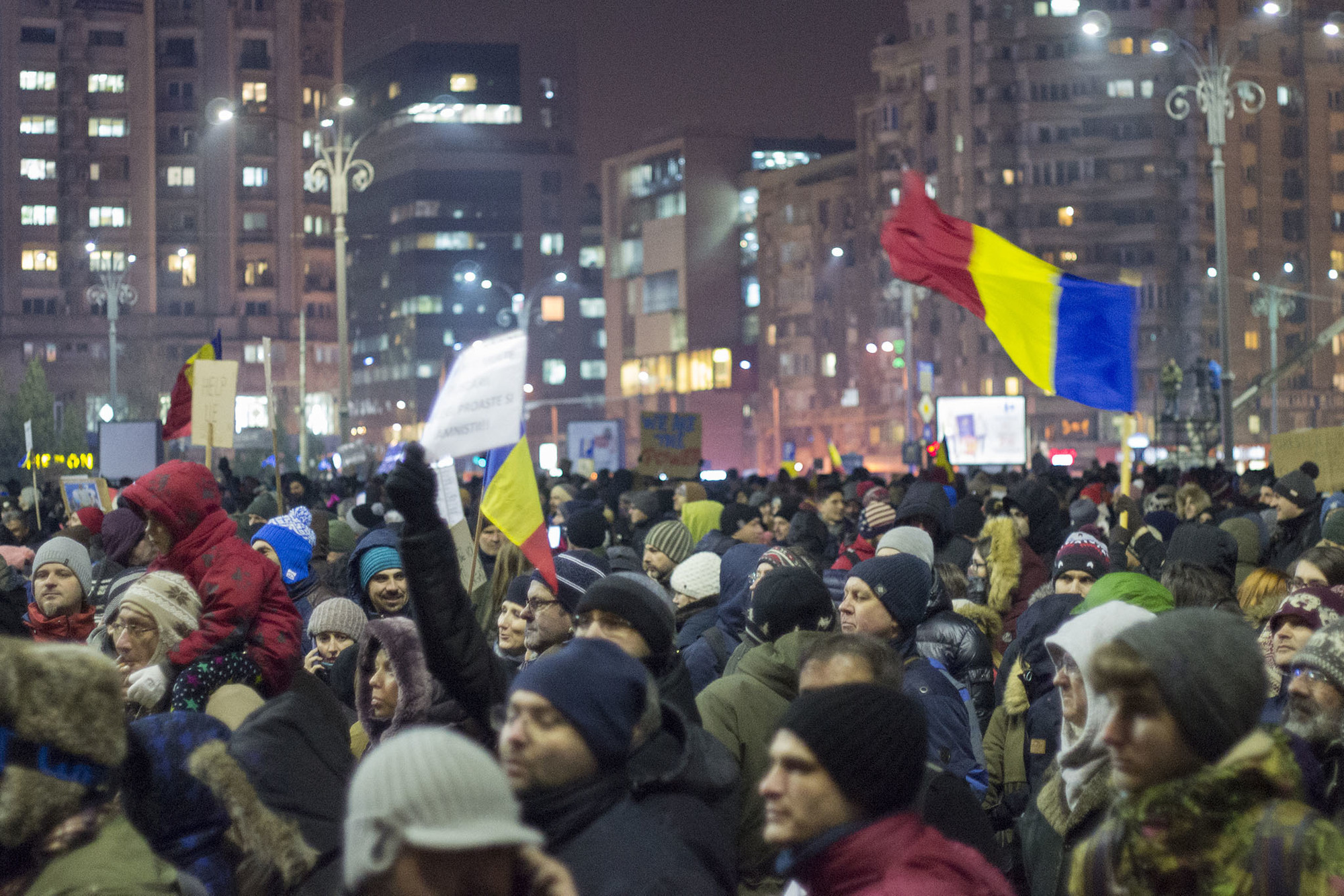 A City Made By People Bucharest Protest