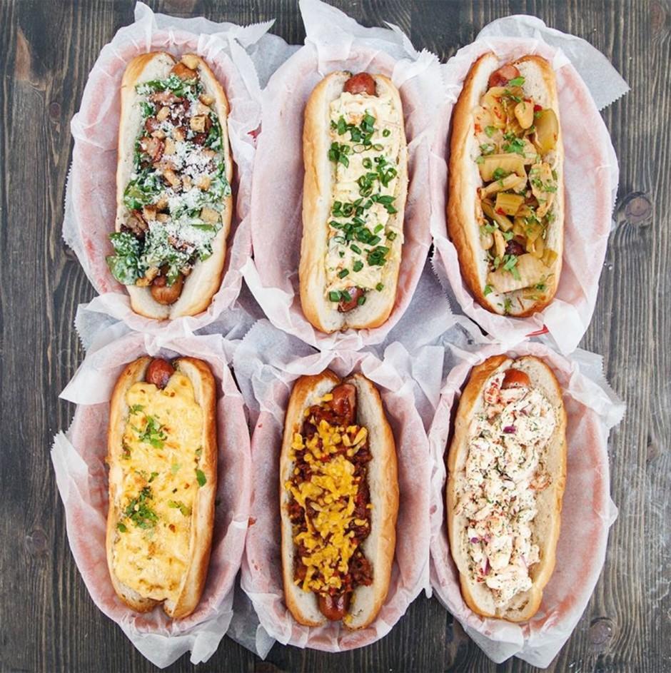 Hot dogs variation
