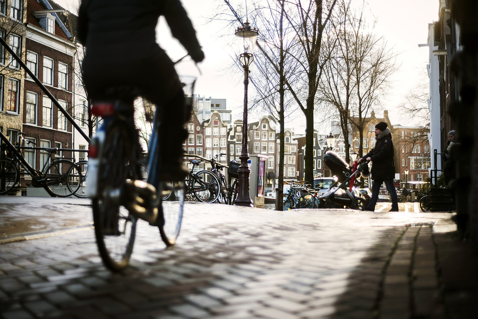 A City Made By People Amsterdam Bicycle