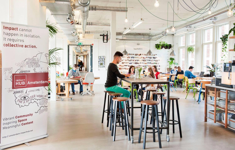 Citinerary Amsterdam Impact Hub
