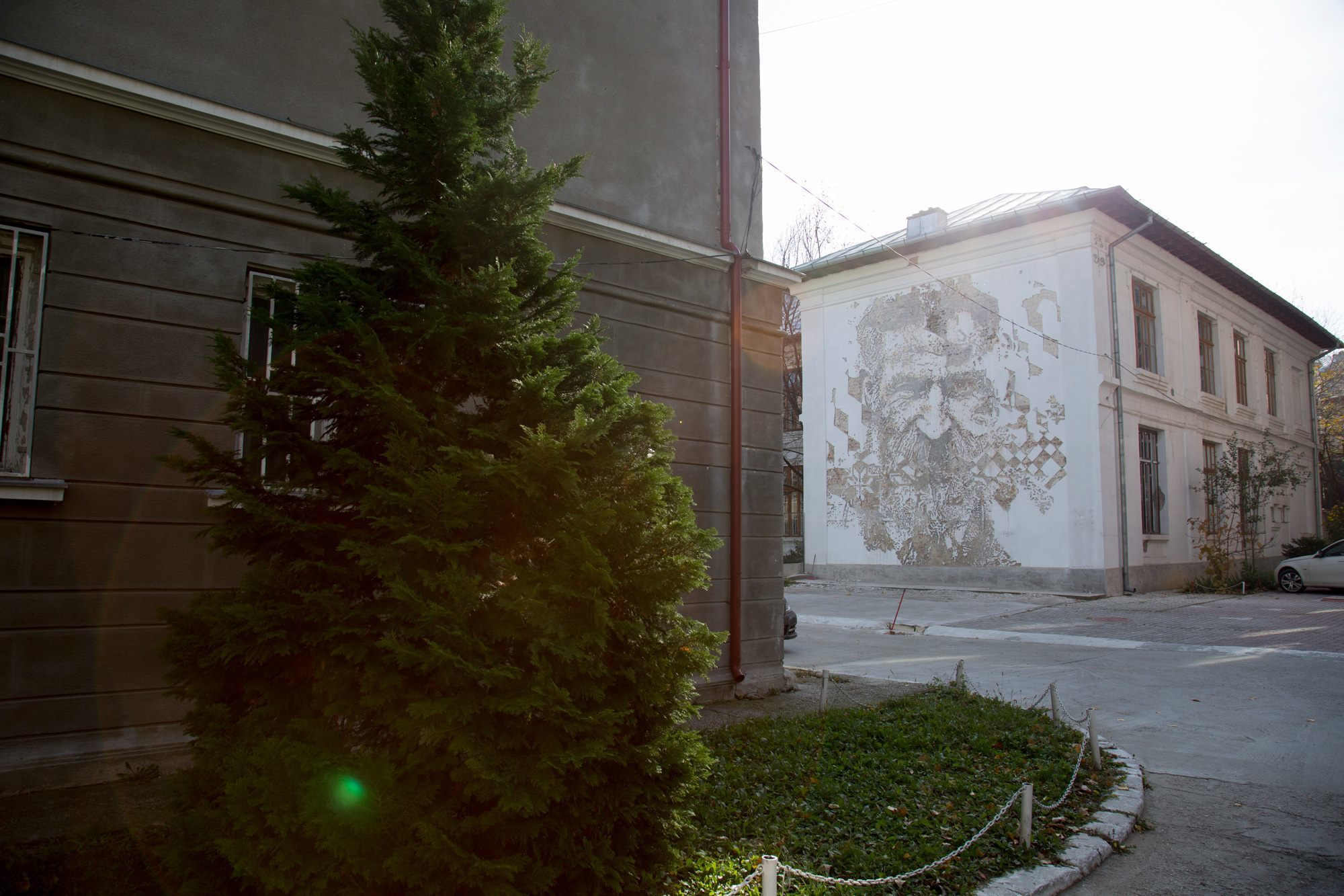A City Made By People Bucharest Vhils