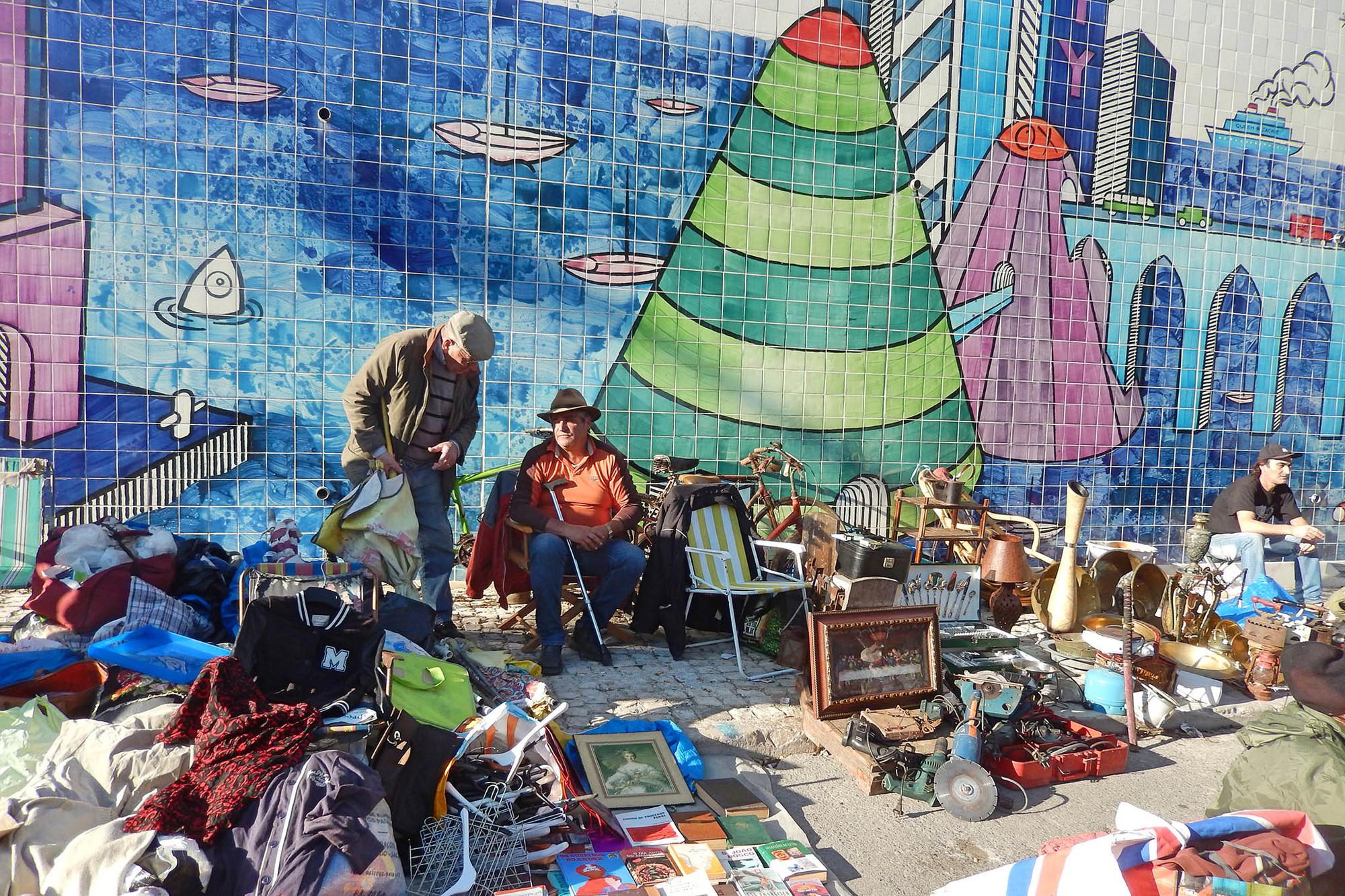 A City Made By People Feira da Ladra Lisbon