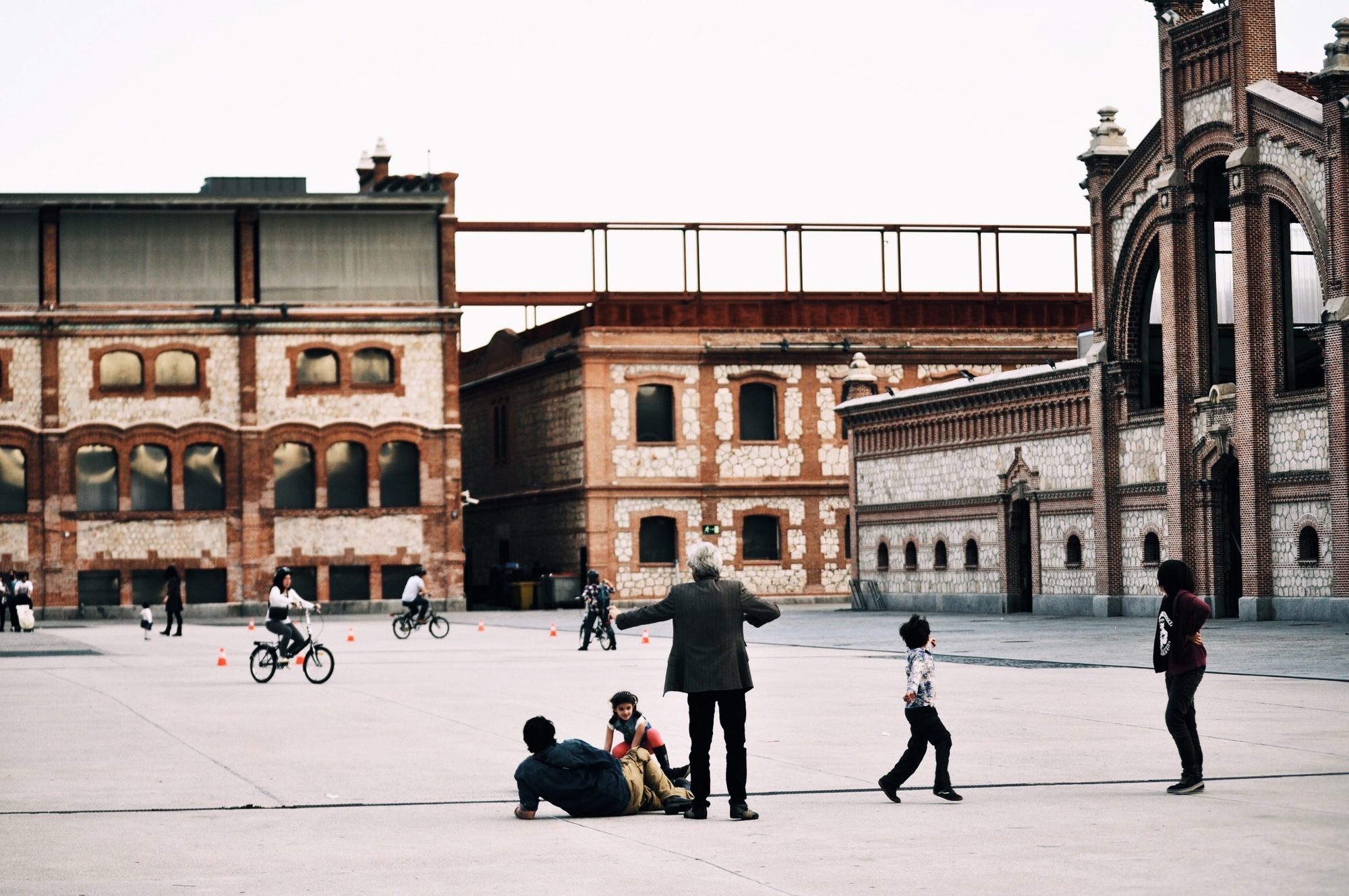 A City Made By People Culture slaughterhouse Matadero de Madrid