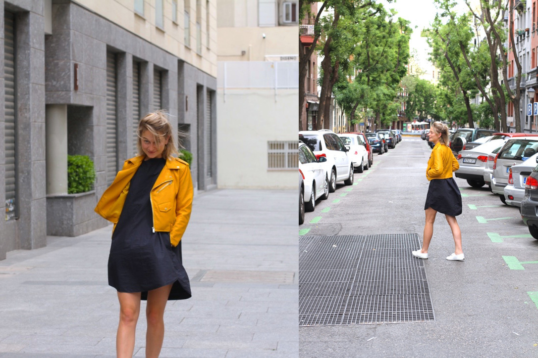 Madrid yellow jacket
