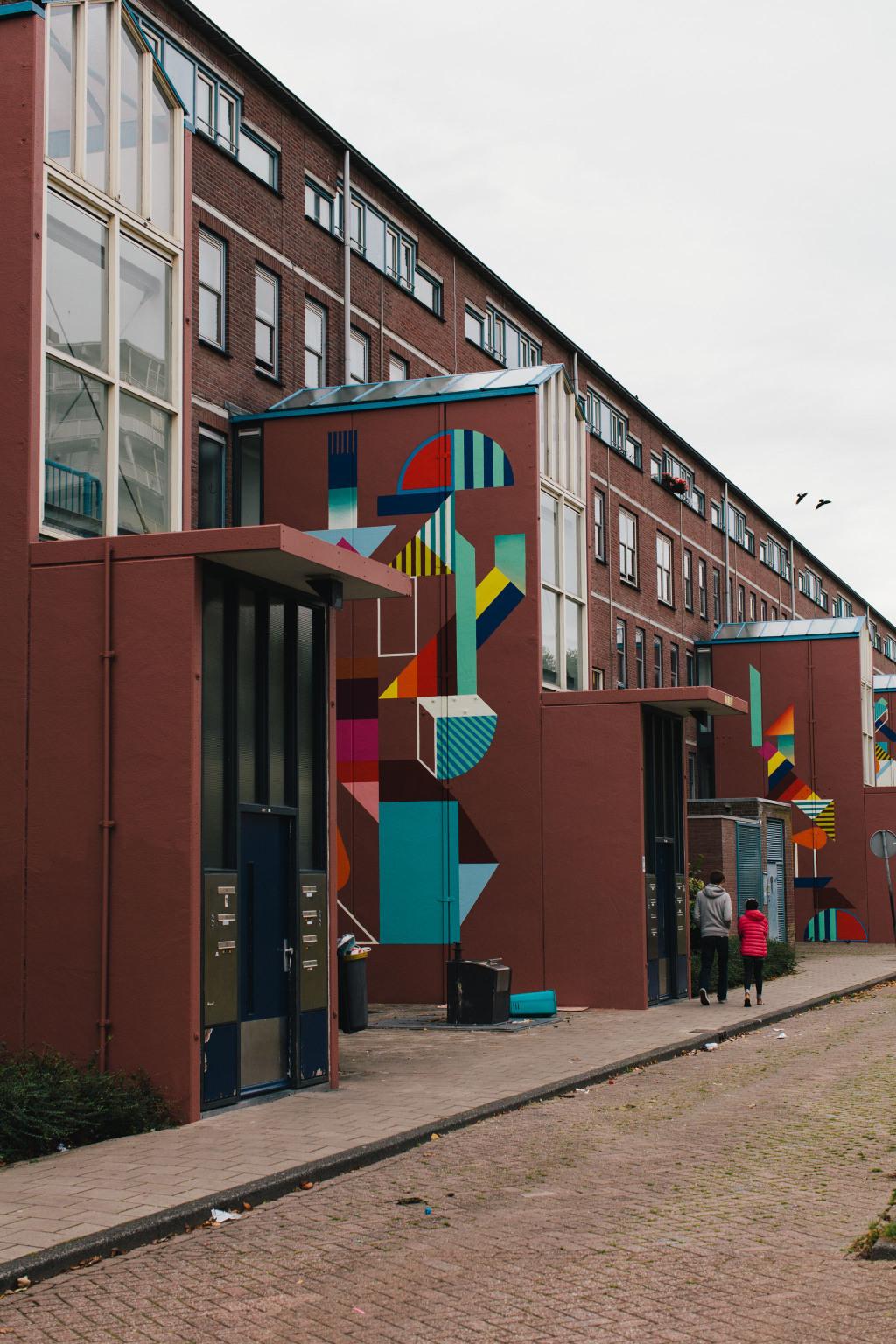 Citinerary x on a hazy morning - Town Talk Bijlmer Amsterdam - J