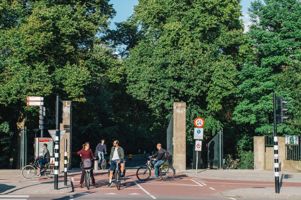 Town Talk - Citinerary - on a hazy morning - Vondelparkbuurt - A