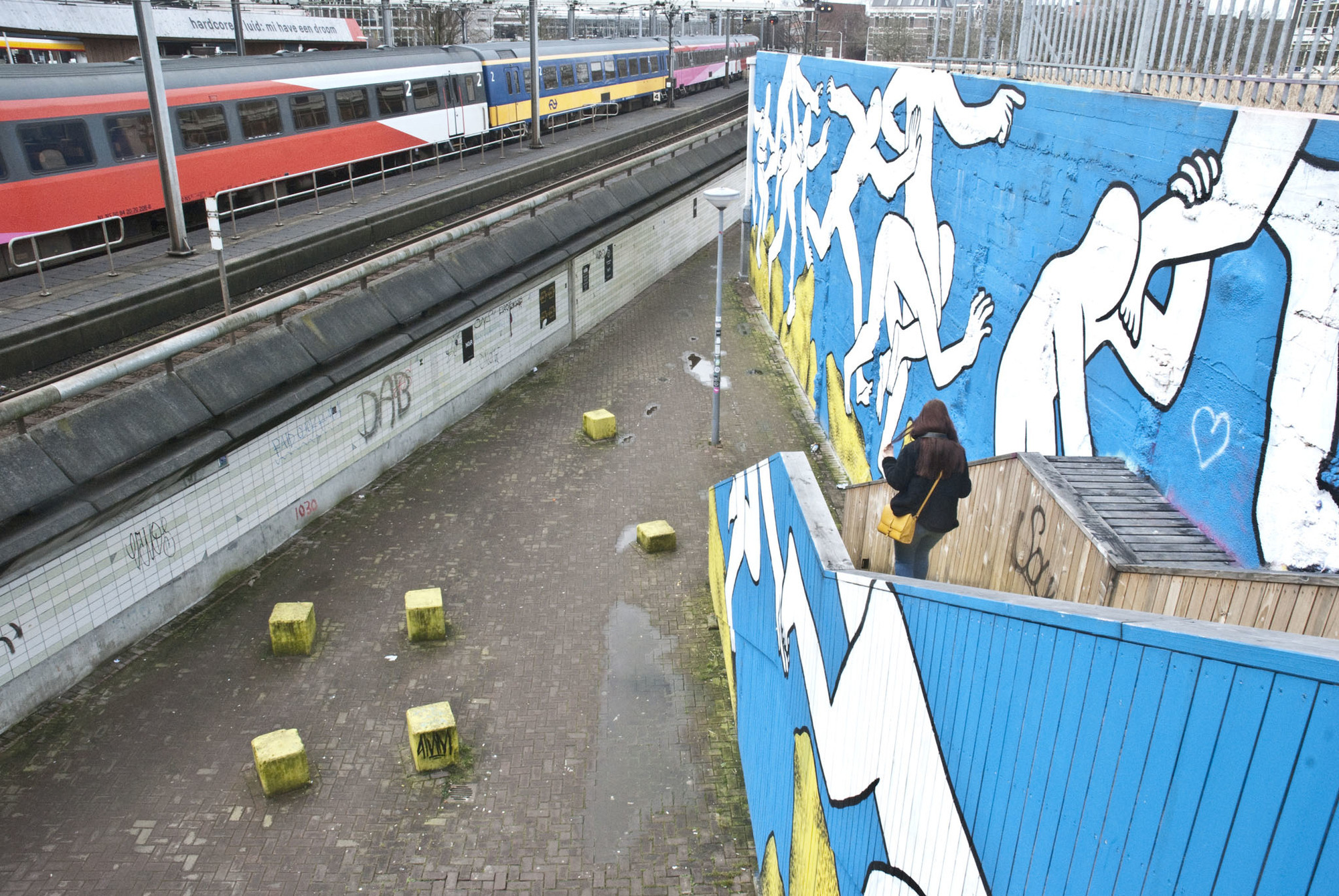 A City Made By People Rewriters Rotterdam's first street art route