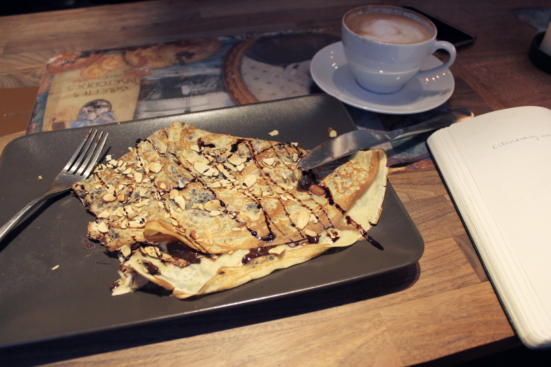 crepe of the day