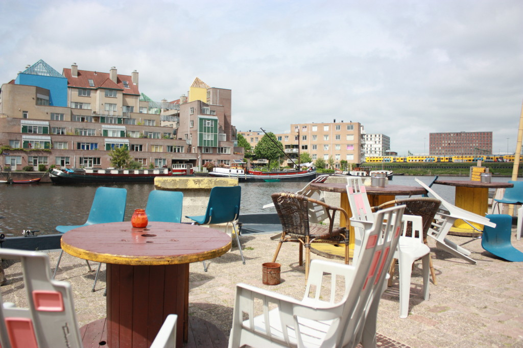 City oasis Roest