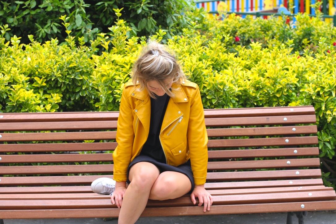 Madrid's famous yellow jacket