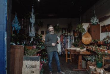 Behind the roller door - Opus In Wood, Brunswick