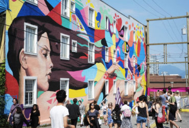 Transforming the City with Public Art - Vancouver's Annual Mural Festival