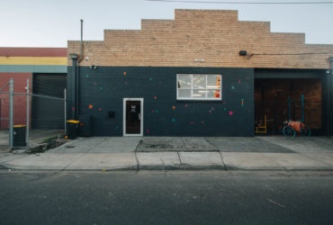 Behind the roller door - Urban Athletic, Brunswick