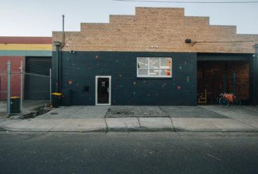 Behind the roller door - Urban Athletic, Brunswick