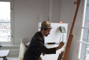 Old department tower turns into artists' residence