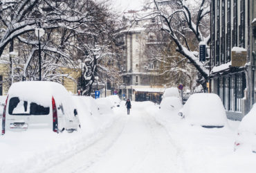 Living in the city of Bucharest - A winter encounter