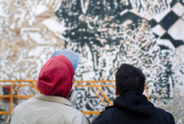 Blasting walls with cultural and social symbols - street artist Vhils