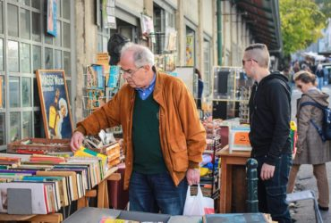 Pilgrimage in Feira da Ladra - the oldest flea market in Lisbon