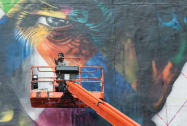 Brazilian Street Art Comes to Minneapolis - Eduardo Kobra