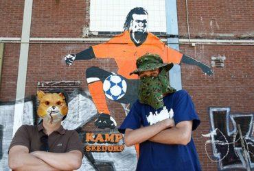 "Kamp Seedorf the ""Banksy with Balls"""