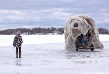 Art Shanty Project - Where Art Meets A Frozen Minnesota Lake
