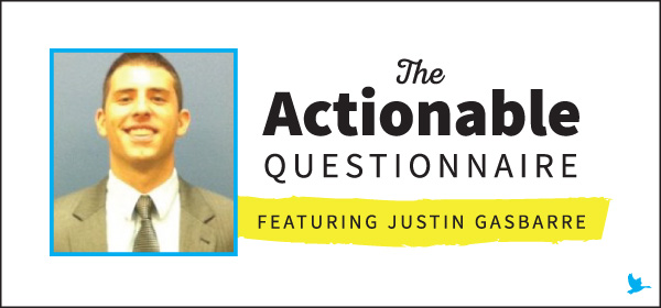 The Actionable Questionnaire with Justin Gasbarre